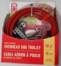 50' dog trolley cord Mississauga, L5N 2T3