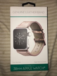Leather band for Apple Watch Lancaster, 40444