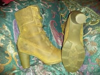 """Timberland 6"""" round high heel leather boots Derry, 03038"""