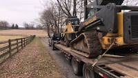 Hauling, yard waste removal, junk removal, mulching.