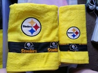 Personalized football towels  Inwood