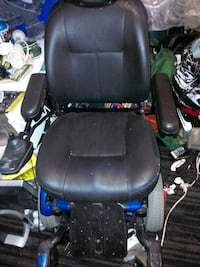 black leather mobility wheelchair Vancouver, V5L 3P1