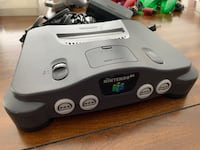 Nintendo 64, 4 refurbished controllers, 1 Tremor (Rumble) Pack, 6 games. $350 or best offer! Oakton, 22124