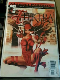 #1 Elektra comic book MARVEL