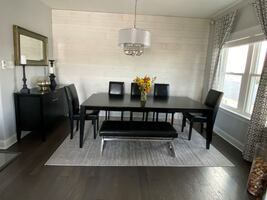 Crate and Barrel Triad Extension Dining Table