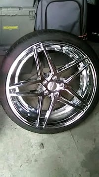 """20"""" Rosso Rims and tires (Local sale only) Evansville, 47711"""
