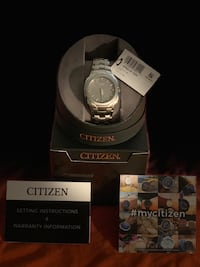 Citizen Eco Drive Stainless Steel Watch. Victorville