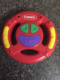 1998 Playskool Activity Center Toy Sound & Light Steering Wheel Vaughan, L4L 5E2