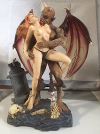Devil ceramic figurine