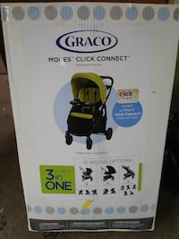 Modes click and connect 3 in 1 stroller brand new