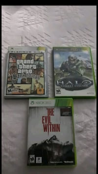 Xbox and xbox 360 games  Pomona, 91767