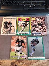 Marcus Allen assorted cards Fresno, 93727