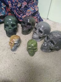 """Assorted Healing Crystal Skull 3"""" and 5"""" Vienna, 22181"""