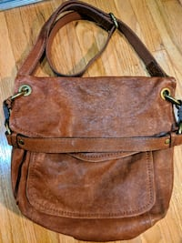 Real Brown Leather Fossil Handbag Vancouver, V6H 1P2