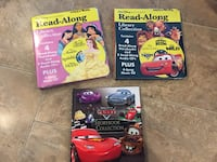 8 Disney stories with DVDs and books & Disney Cars story book Waterloo, N2T 0A9