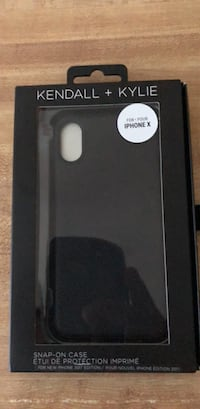 Black Snap on case iPhone X Robinson Township