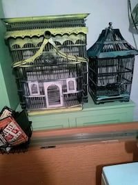 Larger bird cage is still available.