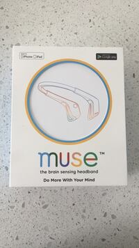 Muse bluetooth brain sensing headband band with box Toronto, M5V