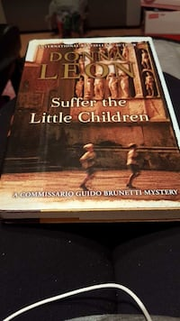 Book by Donna Leon Suffer the Little Children book Laval, H7Y 2B5