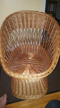 NEW Wicker Tub Chair, Never Used(Sat In)  London, N5V 2C9