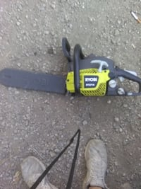 "Ryobi @14""in gas powered chain saw Columbus"