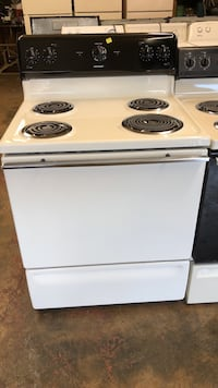 white electric coil range oven High Point, 27260