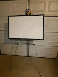 Magnetic Dry-erase board & Stand Amarillo
