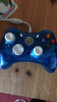 blue xbox 360 wired controller Norwood, 02062