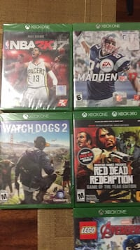 Brand new Xbox one games Palmview, 78572