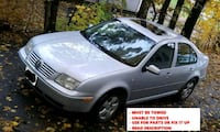2003 Volkswagen jetta (must be towed)  Shrewsbury, 01545