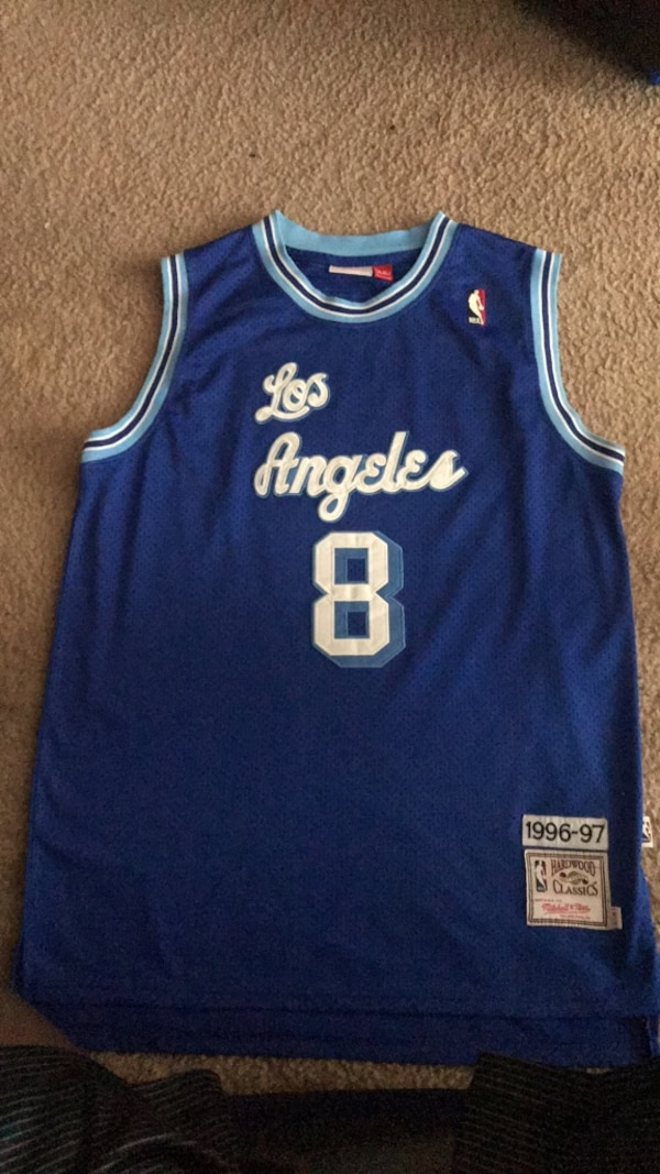 cf388d8a8e8 Used blue and white Adidas Golden State Warriors jersey for sale in Detroit  - letgo