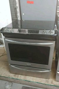 black and gray induction range oven Toronto, M6H 2C5
