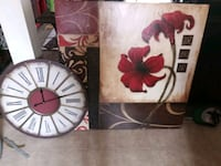 two white and red flower paintings Greeley, 80631