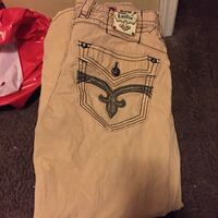 Rock revival and black true religion jeans and True religion jump suit and more
