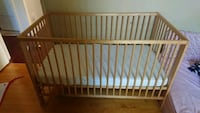 Baby crib. Excellent condition. Already take a parts. Ready for pickup Charlotte, 28216