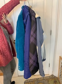Assortment of women's coats