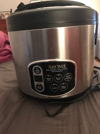 AROMA  Digital rice cooker and food steamer null