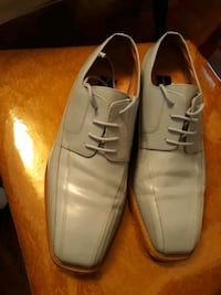 Blue Leather shoes, Size 9 Baltimore, 21239