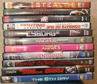 DVD Movie Lot 13 - Action Calgary, T2Z 4W6