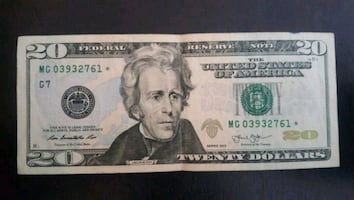 $20 Bill STAR NOTE
