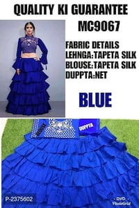 blue and black sleeveless dress Secunderabad, 500061