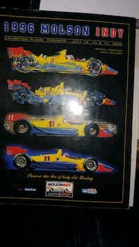1996 Molson Indy with Greg Moore autograph Vaughan, L4H 1V4