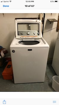 White top-load clothes washer Lake Grove, 11755