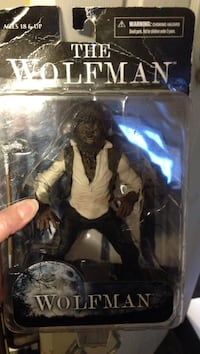 The Wolfman action figure with box Oro-Medonte, L0K
