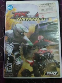 MX VS. ATV Untamed nintendo Wii games case Los Angeles, 90003