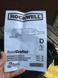 Rockwell sonicrafter multi tool Alexandria, 22305