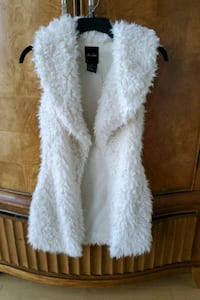 Womens Faux Fur vest