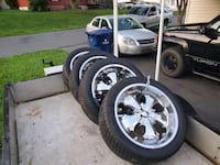 $1,000 four Rim's and Tires , Call at  [TL_HIDDEN]