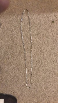 Silver necklace real negotiable on the price  Brampton, L6R 1P5