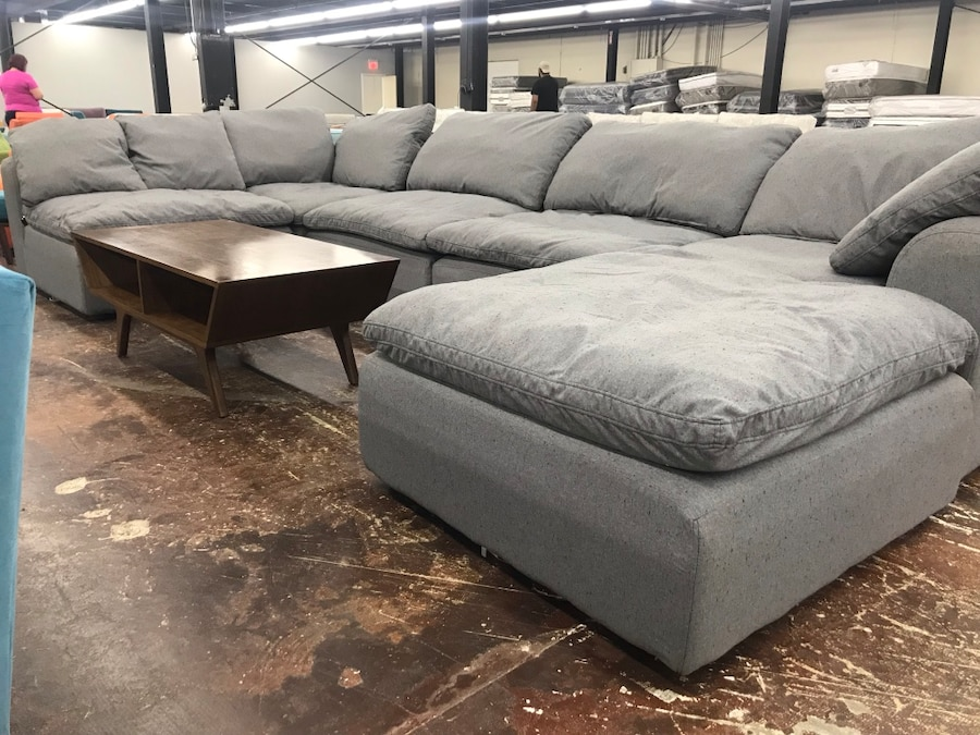 Bryant U Sofa Bumper Sectional ***